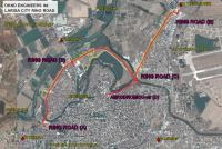 <h2>LARISA CITY RING ROAD</h2><p>Total Ring Road design and urban transportation planning for a complex of a 8,5km Highway, with 2 Roundabouts, 2 major river bridges, more than 10km of service roads, urban roads and bicycle roads.</p>